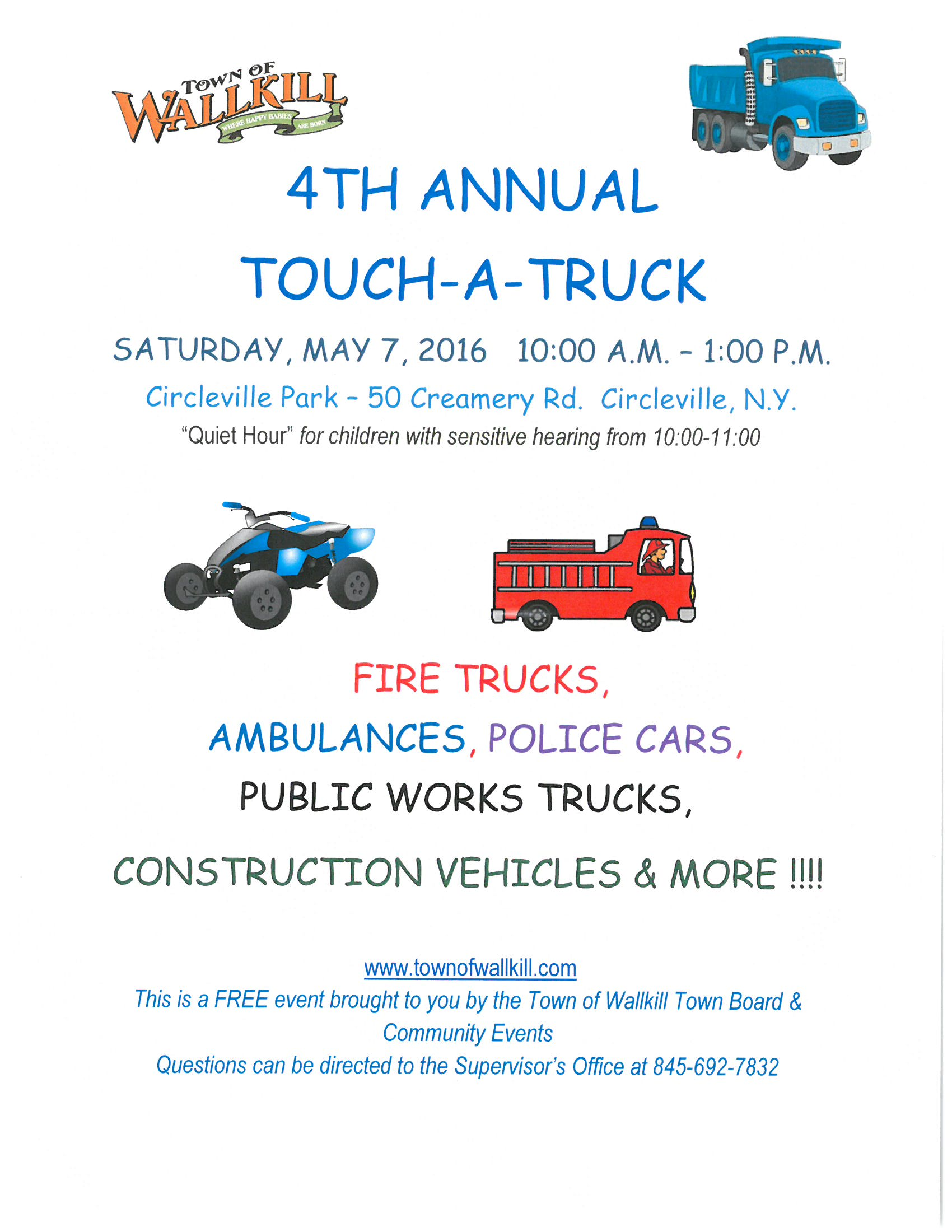 Touch A Truck 2016