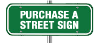 purchase street sign